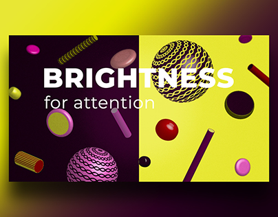 Bright 3D sticks and stones