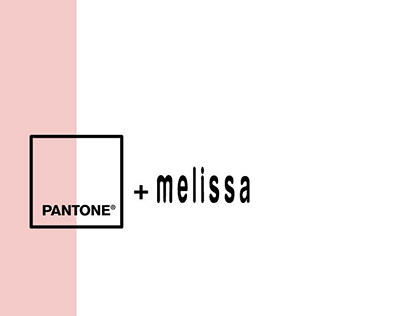 Melissa + Pantone // mock marketing campaign • 2016