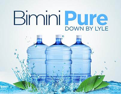 Bimini Pure Package/Label Design