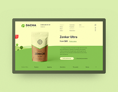 Dacha Group — web site