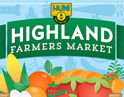Highland Farmers Market Poster Series
