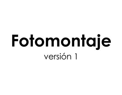 Fotomontaje - Versión 1