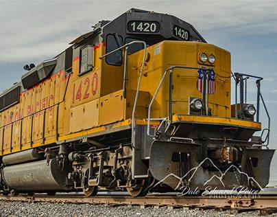 Locomotive 1420 Roseville Rail Yard
