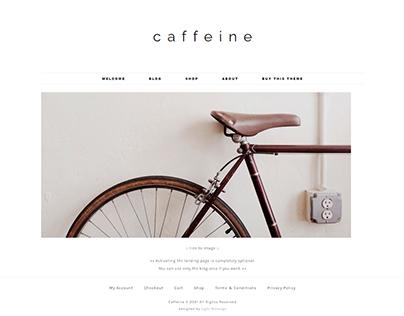 Woocommerce WP Theme - Caffeine
