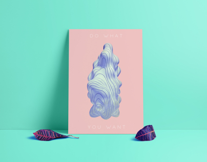 Positive Vibes / Poster Series