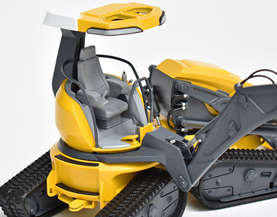 Backhoe Concept Model