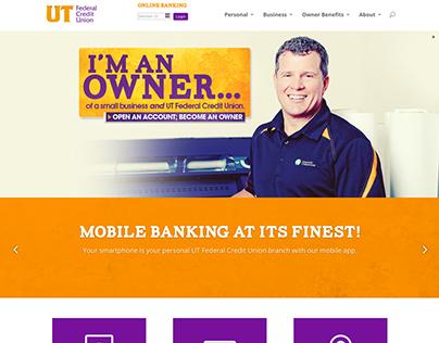 UT Federal Credit Union Website Design