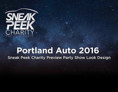 Portland Auto 2016 - Sneak Peek Preview Party Look
