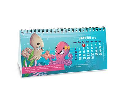 Calendário Ano do Amigo 2019