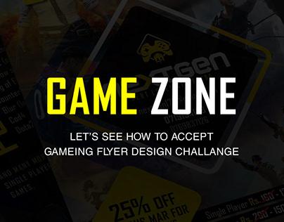 Gaming Flyer Design I Game Zone Promotion