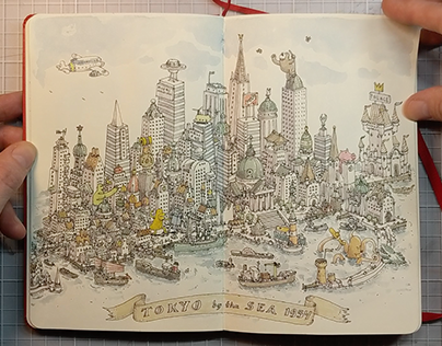 Sketchbook 36, uncut and unedited