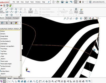 Solidworks Surface Modelling Tutorials