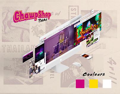 ChawpShop - Site Internet