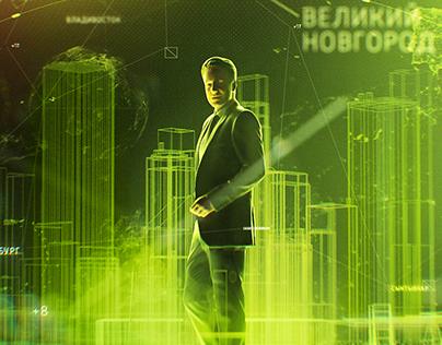 RUSSIA 1. NEWSROOM.