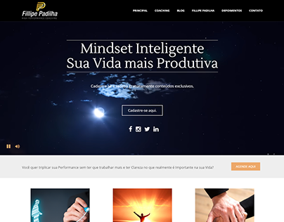 Website Fillipe Padilha Coach