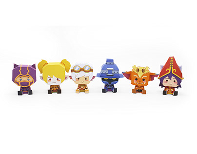 PAPER TOY_League of Legends