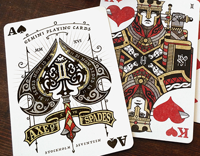Gemini Playing Cards
