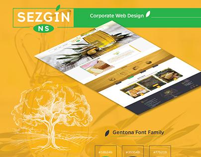 Sezgin Corporate Web Design