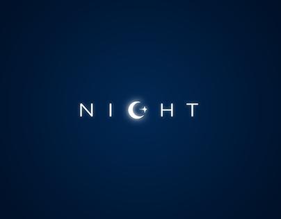 Night concept