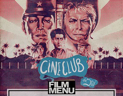 Film Menu CINECLUB - posters