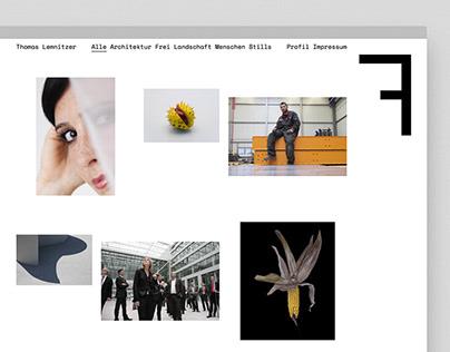 Thomas Lemnitzer Fotografie Website