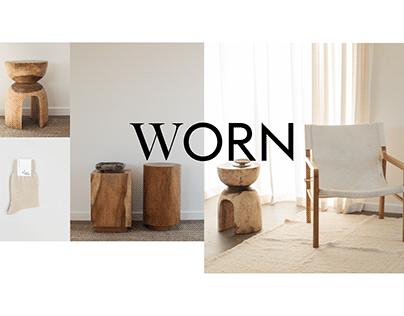 Worn / WEBDESIGN