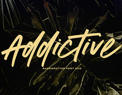 Addictive Font Duo