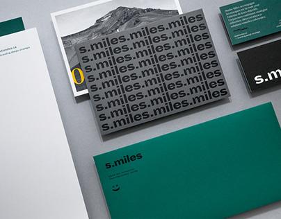 Studio Miles 一 Branding
