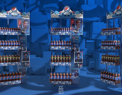 Pepsi parasite display