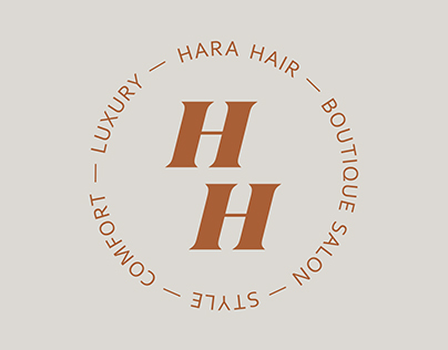 Hara Hair — Boutique salon branding