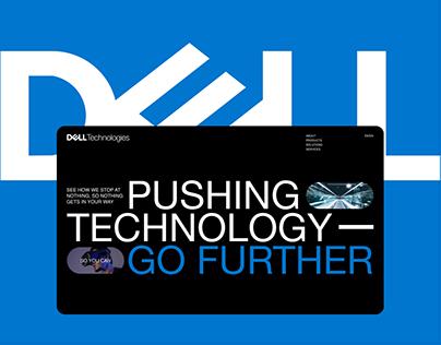 Dell — website redesign
