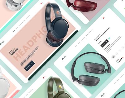 Headphone E-commerce Design