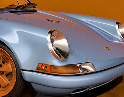 Porsche 911 Singer 3D