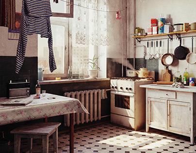 Kitchen retro