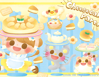 cheesecake party