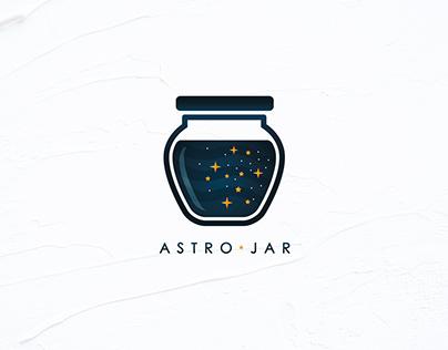 Astro Jar Logo Design