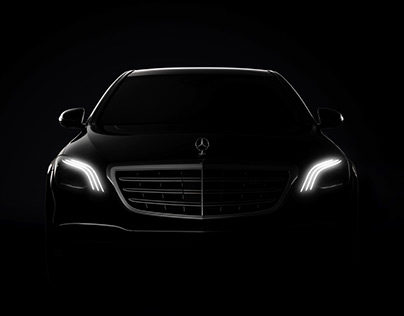 Mercedes and Cadillac Billboard Ads