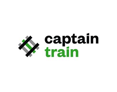 Captain Train - Brand Identity