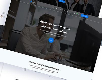 Website for Agency UI/UX Design