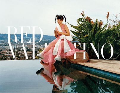 RED Valentino - website redesign
