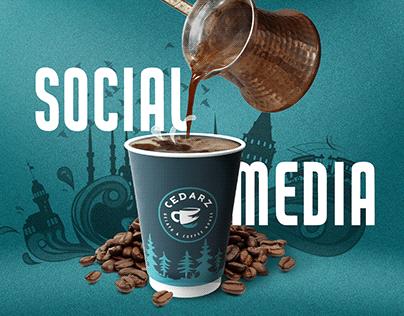 Cedarz Coffee House Social Media Posts