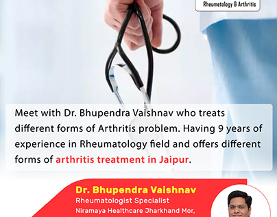 Get arthritis treatment in Jaipur by rheumatologist