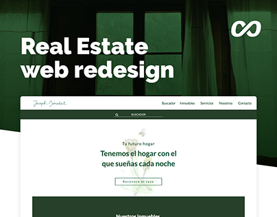 Real State web redesign