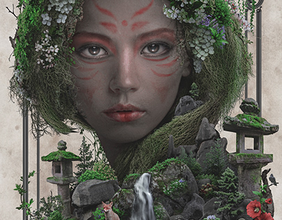 Kitsune dark surrealism