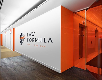 LAW FORMULA - LOGO & CORPORATE IDENTITY