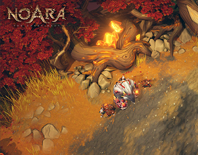 Game Environment - NOARA - Adalar's forest