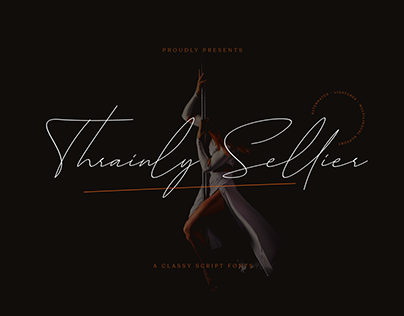 Thrainly Sellier Script Fonts
