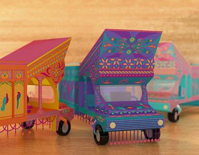 Tuk-Tuk Truck