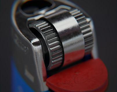 Bic - 3D Render