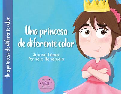 Una princesa de diferente color